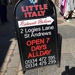 Little Italy St Andrews ,Scotland