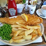 Fabulous Fish and Chips from the Magpie 😄