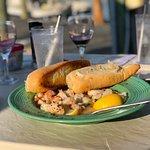Shrimp and Scallop Bruscetta