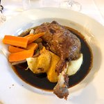 Dinner at the Bridge of Orchy Hotel