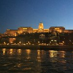 Evening views toward Buda and Castle Hill