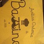 Foto de Antica Osteria di Bazzino