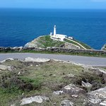 South Stack Lighthouse looking out to the Irish Sea.