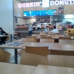 Dunkin' Donuts during mall renovations (new location)