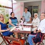 Sr.Jose comemorando o Dia das Mães. No Cerejeiras em Flor Bistro & Cafe. Como sra Iracema e Sra