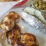 Grilled Marinated Chicken Breast Dinner