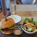 Conch & Crocodile Burger