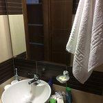 Sacallis Inn 1-2 star Hotel shower room