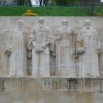 Main protagonists of the Reformation, John Calvin, William Farel, Theodore Beza and John Knox