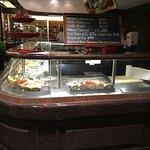 Sea food counter