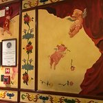 Cochon painted mural