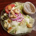 House Salad with Big Container of In-House Italian Dressing