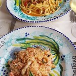 Seafood pasta & risotto