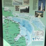 A board about the State Parks & Lighthouses in this part of Michigan