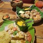 Ikan ala Galanga (Mahi Mahi) best fish dish , Ayam Opor tender chicken