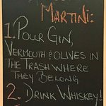 The Perfect Martini...drink whiskey The Shady Rest Waterfront  3109 Island Hwy W, Qualicum Beach