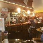 Fully Stocked Bar.