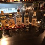 One night having a few drams filled with delicious Japanese whisky.