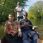 A really good experience on a hot day in Oxford. Good fun and also relaxing. Give it a go!