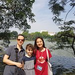 At Hoan Kiem Lake