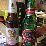 Chinese and Thai beer