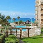 Pool area at Pelican Beach Resort.