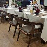 Cosy restaurant room