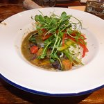 Thai green curry in the Dinorben Arms