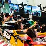 Real race car simulators