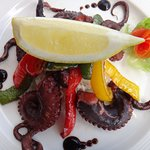 Our Grilled Octopus is tantalizingly amazing..... Freshly caught local Octopus.