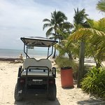 Rented the golf cart and headed up north to check out the island.