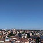 vista di Padova dalla terrazza