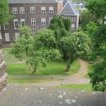 View of the neighbourhood of the fortress the Brucht, leiden
