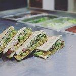 "Falafel ""skepasto"" classic - an excellent vegan choice!"