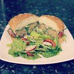 Super tasty vegetarian burger !!!