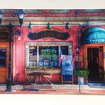 Artist rendition of Tweed's Restaurant & Buffalo Bar