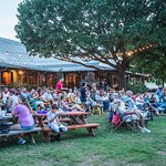 Shady Oak BBQ outdoor seating