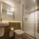 Standard shower bathroom