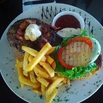 Heavy Metal Burger plate