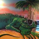 Iguanas fun atmosphere