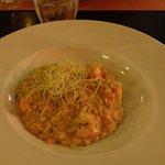 risoso de camarão (estava divido em 2 pratos)