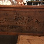 The bar at Old Yarmouth Inn.