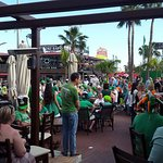 Paddy's Day for rugby, plus a gig in the street!