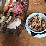 Nuts and Meat & Cheese Tray