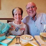 Don and wife Lynne at ANTONIO'S on Mother's Day