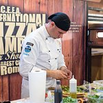 2018 International Pizza Championships... Deeply concentrating on perfection