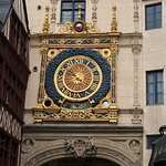 Rue du Gros-Horloge Foto