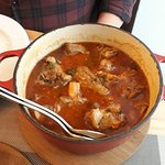 Slow cooked lamb stew