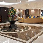 Executive Hotel Manila's Lobby and Reception Area.