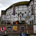 Shakespeare theatre at South Bank London